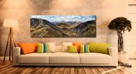 Deepdale Hause Panorama - Canvas Print on Wall