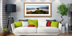 King of Cumbria - Framed Print with Mount on Wall