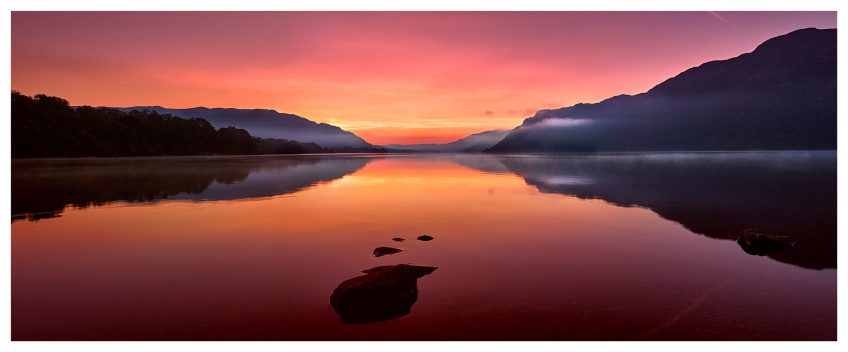 Ullswater Golden Sunrise - Lake District Print