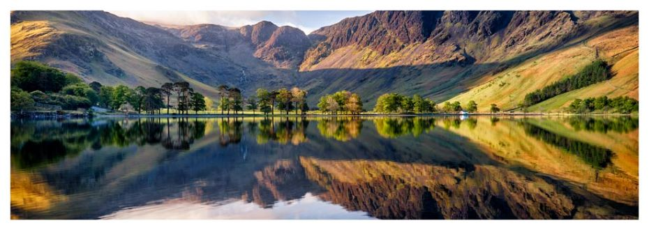 First Light at Buttermere - Lake District Print