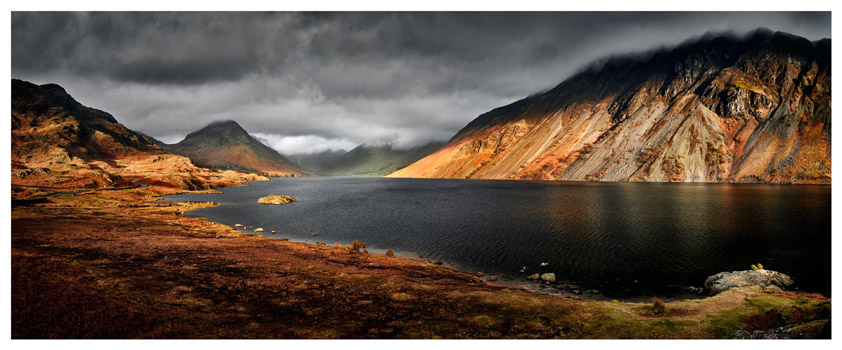 Sunlight on Wast Water - Lake District Print