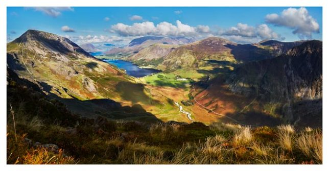 The Buttermere Valley - Lake District Print