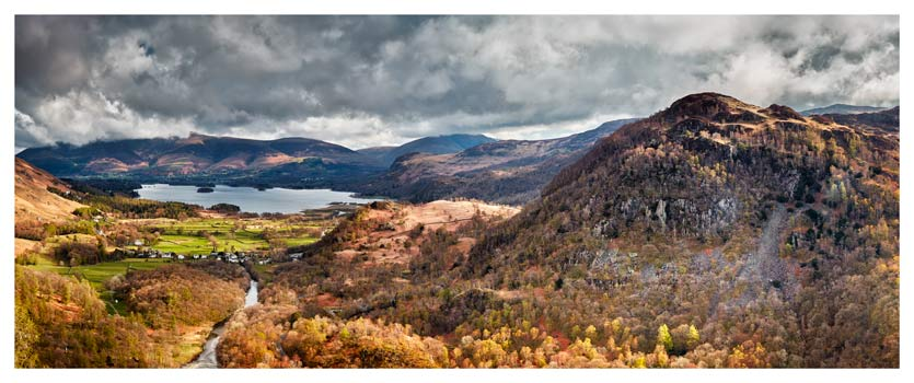 Kings How and Derwent Water - Lake District Print