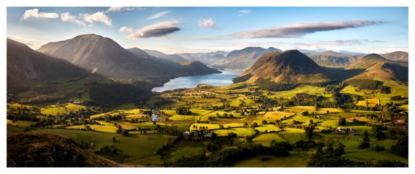 Loweswater Fell Vista - Lake District Print