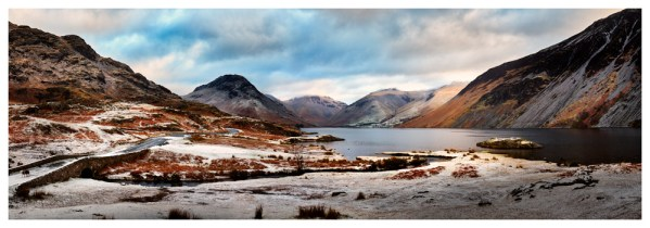 Snowy Day at Wast Water - Lake District Print