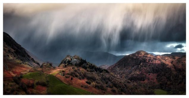 The Rains are a Coming - Lake District Print