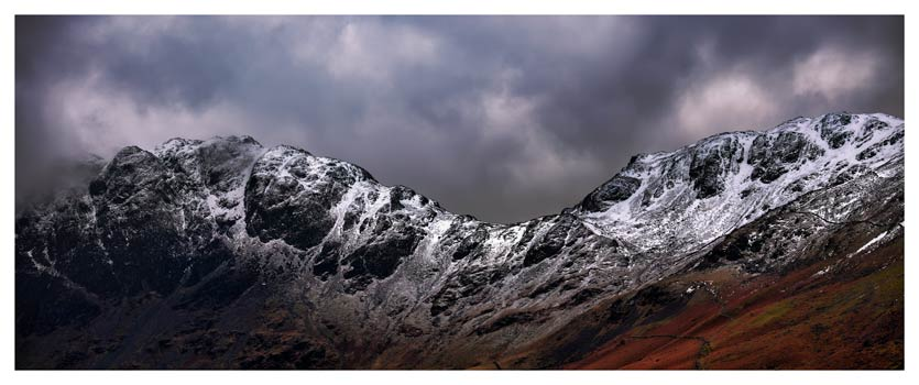 Hay Stacks and Scarth Gap - Lake District Print