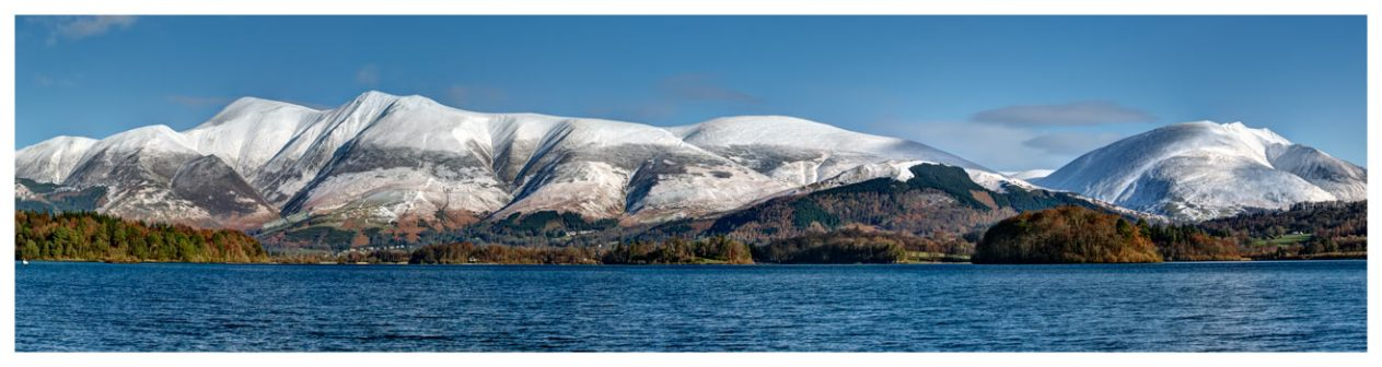 Skiddaw and Saddleback - Lake District Print