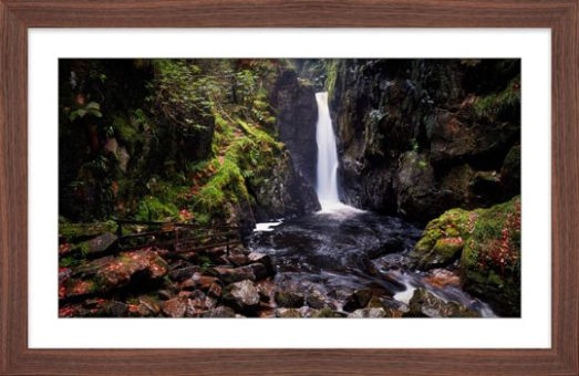 Stanley Ghyll Force - Framed Print