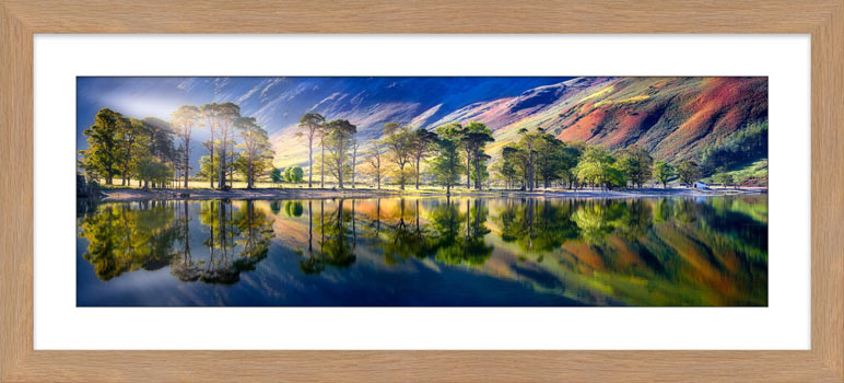 Buttermere Tranquility - Framed Print