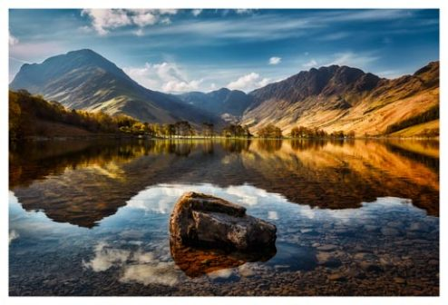 The Buttermere Rock - Lake District Print