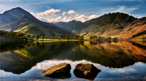 Beautiful Buttermere - Canvas Print