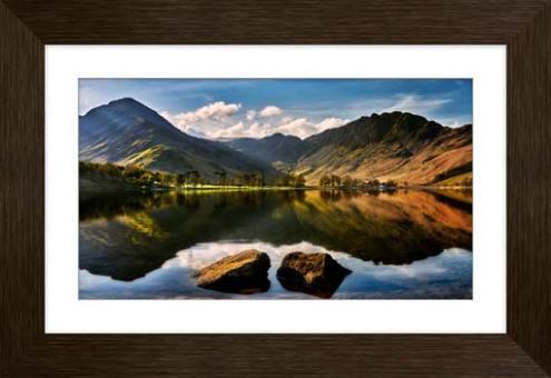 Beautiful Buttermere - Framed Print