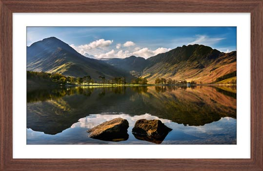 Beautiful Buttermere - Framed Print
