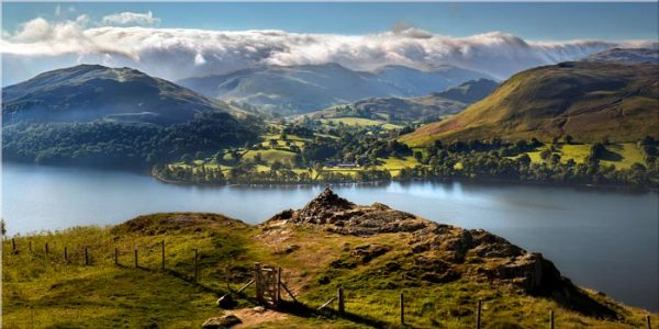 Gowbarrow to Martindale - Canvas Print