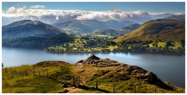 Gowbarrow to Martindale - Lake District Print