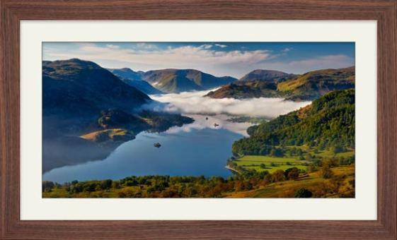 Glenridding Under the Clouds - Framed Print