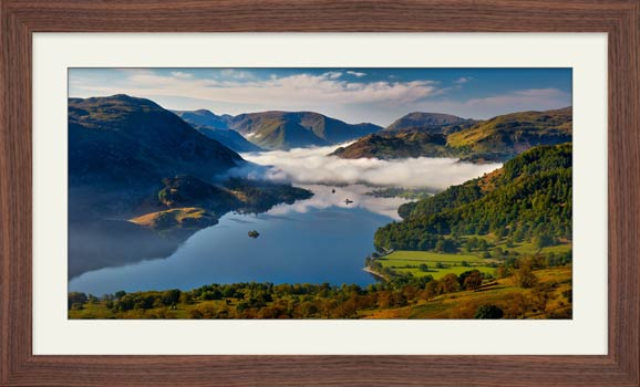 Glenridding Under the Clouds - Framed Print