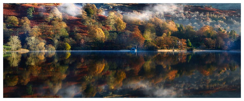 Rydal Water in Autumn - Lake District Print