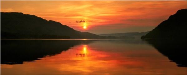 Ullswater Sunrise - Canvas Print
