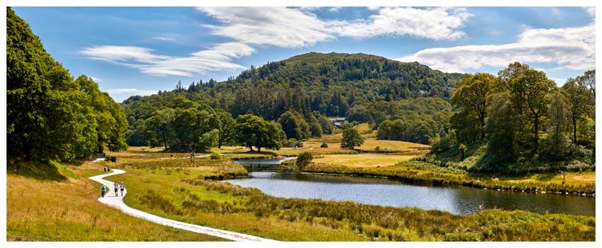 River Brathay Walk - Lake District Print