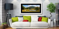 River Brathay Walk - Framed Print with Mount on Wall