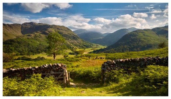Green and Pleasant Land - Lake District Print
