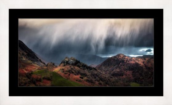 The Rains are a Coming - Framed Print