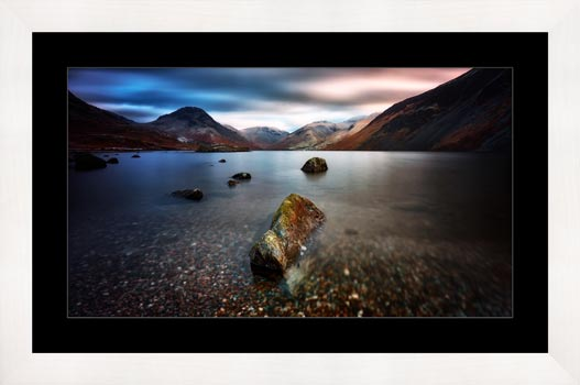 Wast Water Rock - Framed Print