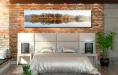 Misty Morning at Esthwaite Water - Lake District Canvas on Wall