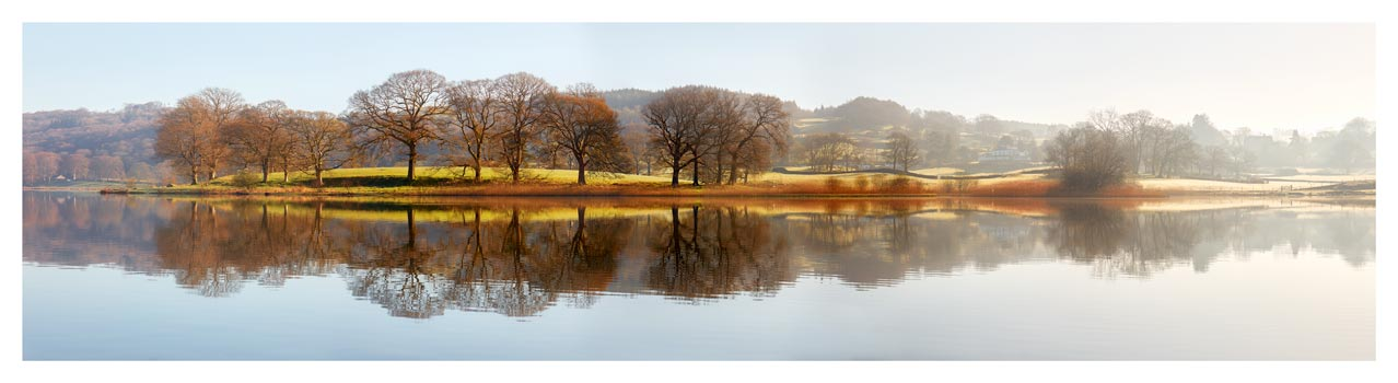 Misty Morning at Esthwaite Water - Lake District Print