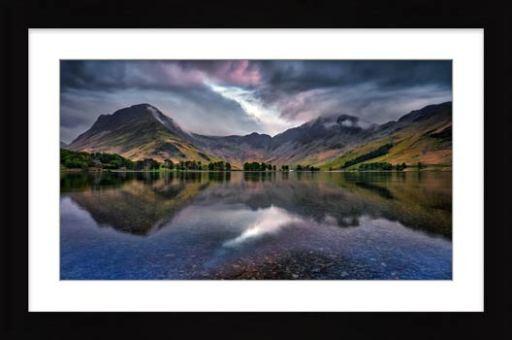 Buttermere Sky Rift - Framed Print