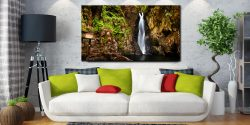Stanley Ghyll Force Gorge - Lake District Canvas on Wall
