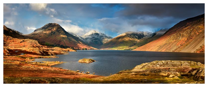 Wast Water Sunlight - Lake District Print
