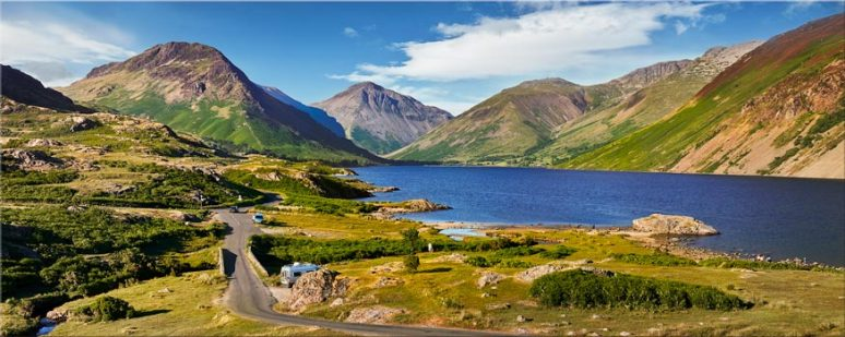 Summer at Wast Water - Lake District Canvas
