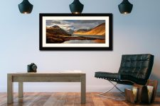 Glorious Lake District - Framed Print with Mount on Wall
