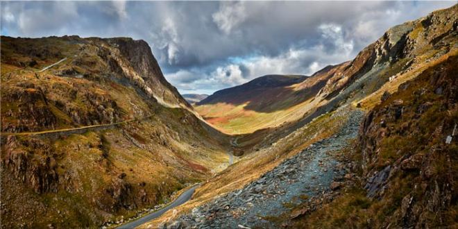 The Honister Pass - Lake District Canvas