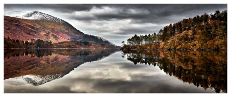 Thirlmere Late Autumn - Lake District Print
