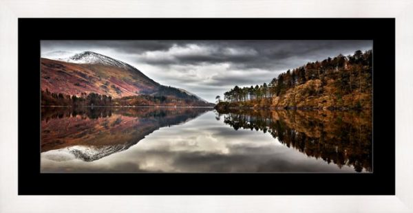 Thirlmere Late Autumn - Framed Print with Mount