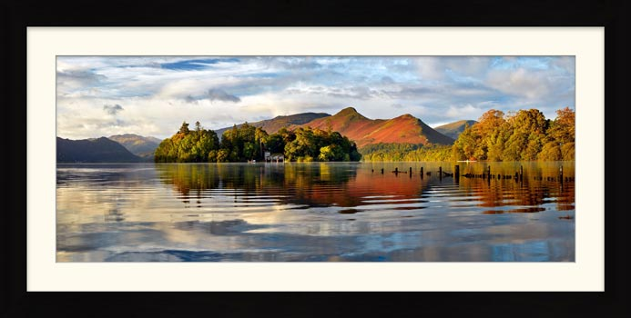 Derwent Isle and Cat Bells - Framed Print