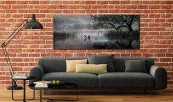 Hartsop Misty Morning - Canvas Print on Wall