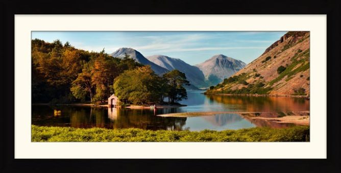 Wast Water Boathouse - Framed Print