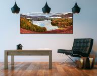 Trees of Grasmere - Canvas Print on Wall