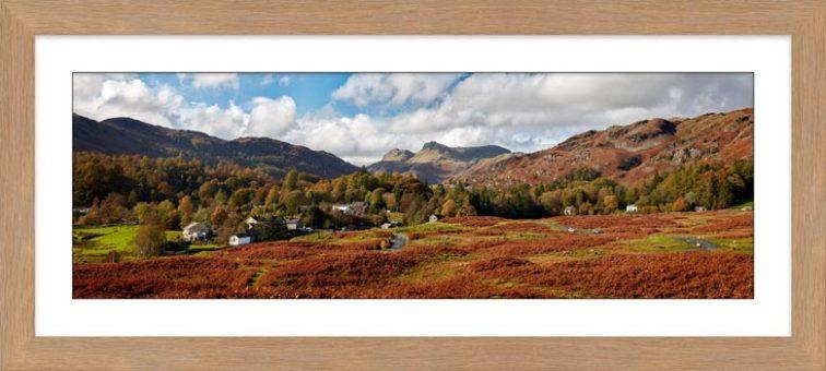 Elterwater Common - Framed Print