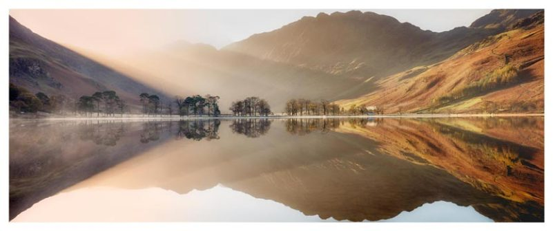 Bright Light on Buttermere - Lake District Print