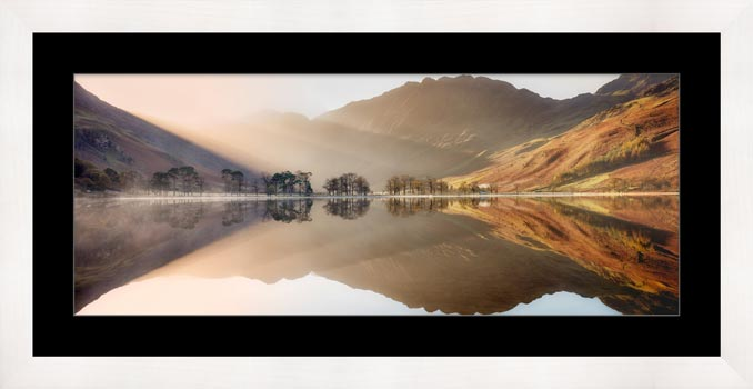 Bright Lights on Buttermere - Framed Print