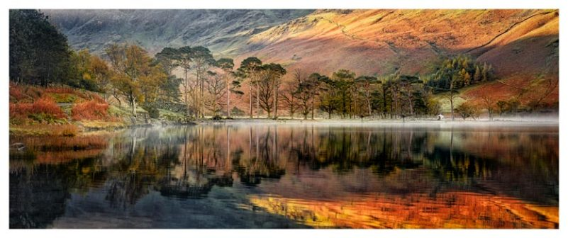 Golden Buttermere - Lake District Print