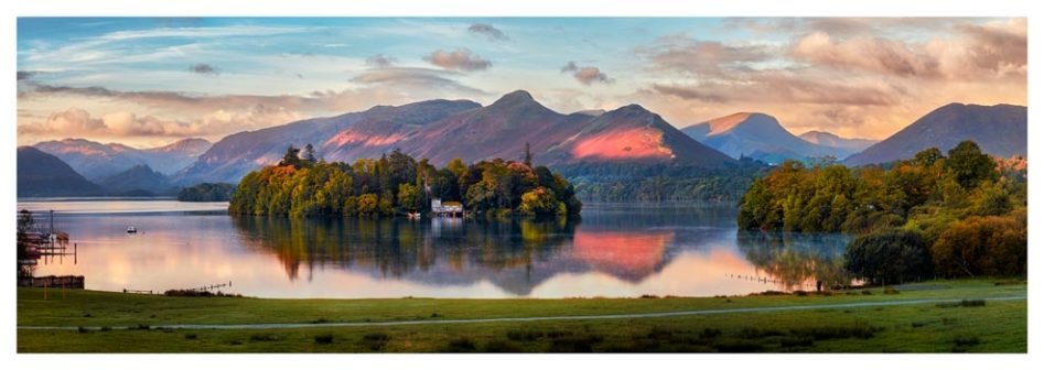 Derwent Water First Light - Lake District Print