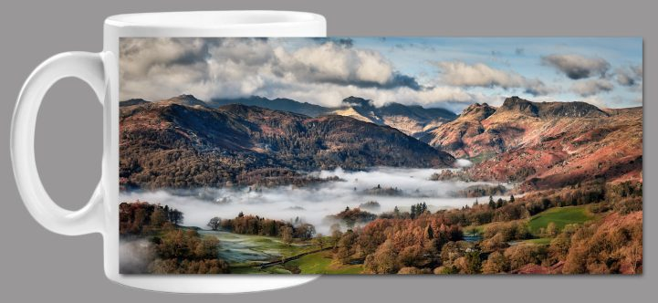 Autumn Morning in Langdale Mug