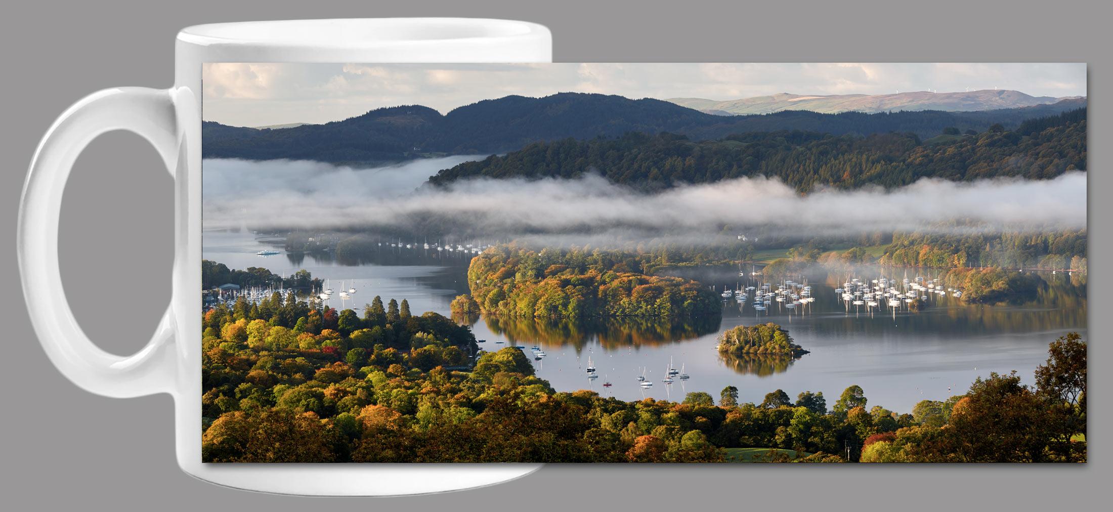 Windermere Morning Mists Mug